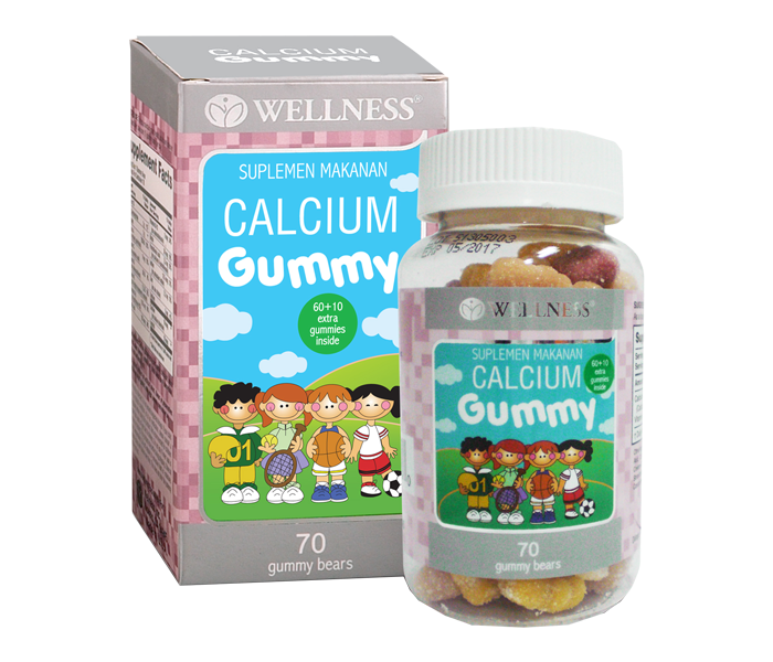 Wellness Calcium Gummy 70 gummies