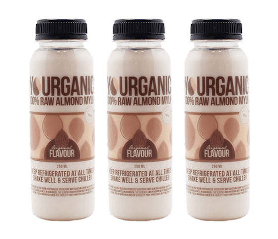 Yourganic Original Raw Almond Mylk 250 ml Pack of 3