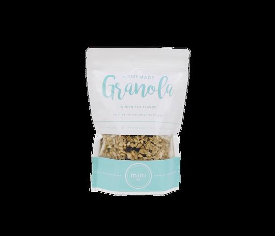 Minime Homemade Granola Greentea Flavour 500 gr