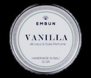 Embun Solid Parfum Vanilla 15 gr