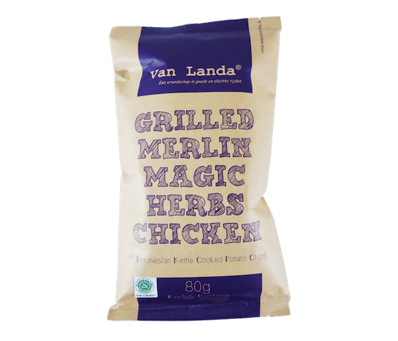 Van Landa Keripik Kentang Merlin Magic Herbs