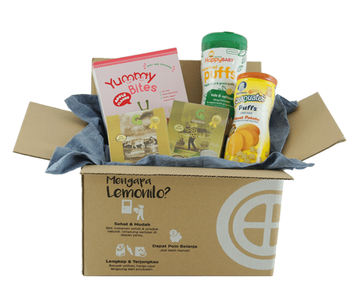 LemoniloBox Paket Makanan Pendamping ASI Si Kecil