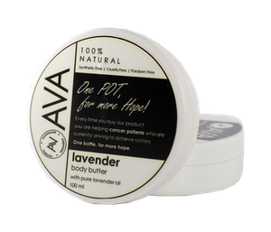 Ava Natural Body Butter Lavender 100 ml