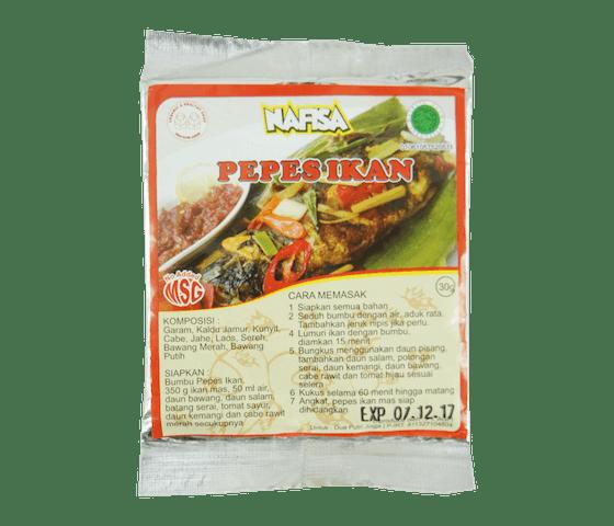 Nafisa Bumbu Pepes Ikan Alami