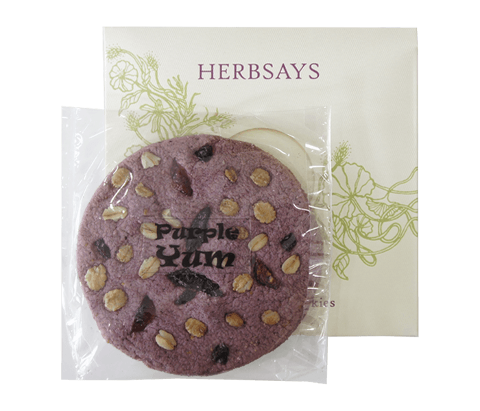 Herbsays Kue Kering Purple Yum