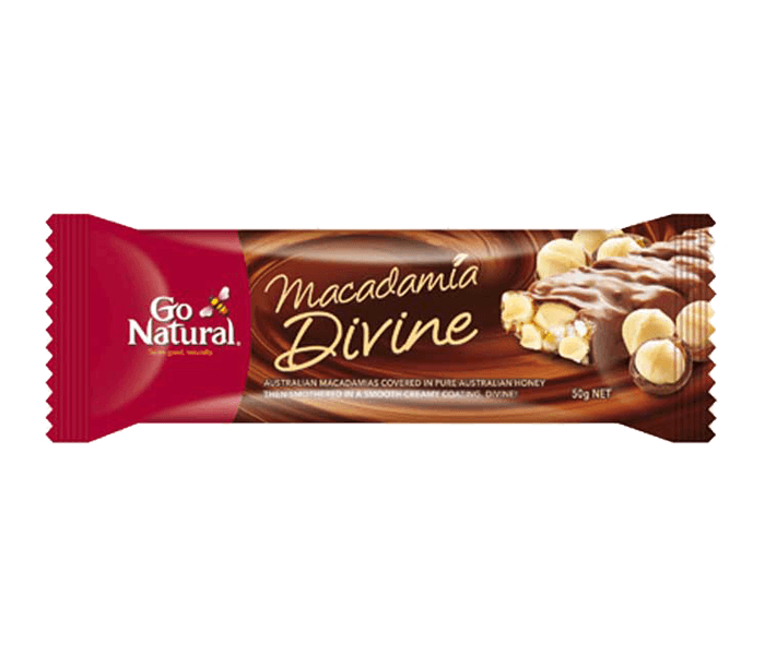 Go Natural Bar Macadamia Divine