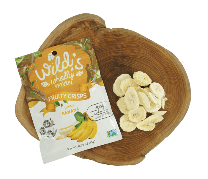 Wild's Wholly Natural Fruity Crisps Keripik Pisang