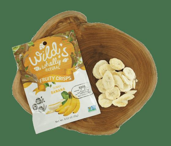 Wild's Wholly Natural Fruity Crisps Keripik Pisang