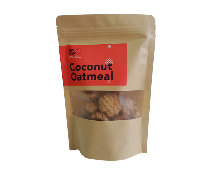 Sweet Gems Coconut Oatmeal Cookies 60 gr
