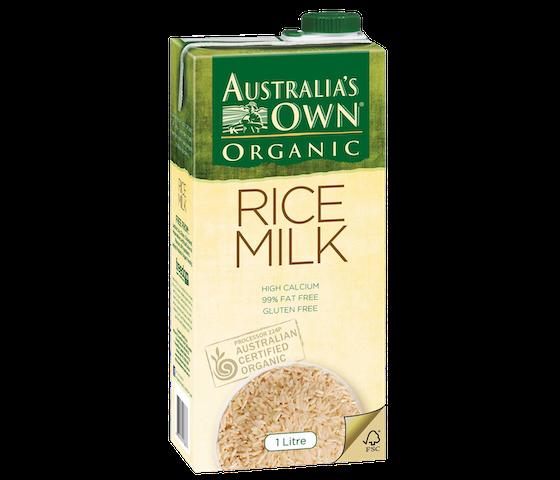 Australia's Own Organic Rice Milk 1 L