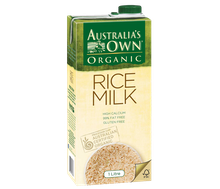 Australia's Own Organic Rice Milk 1 L