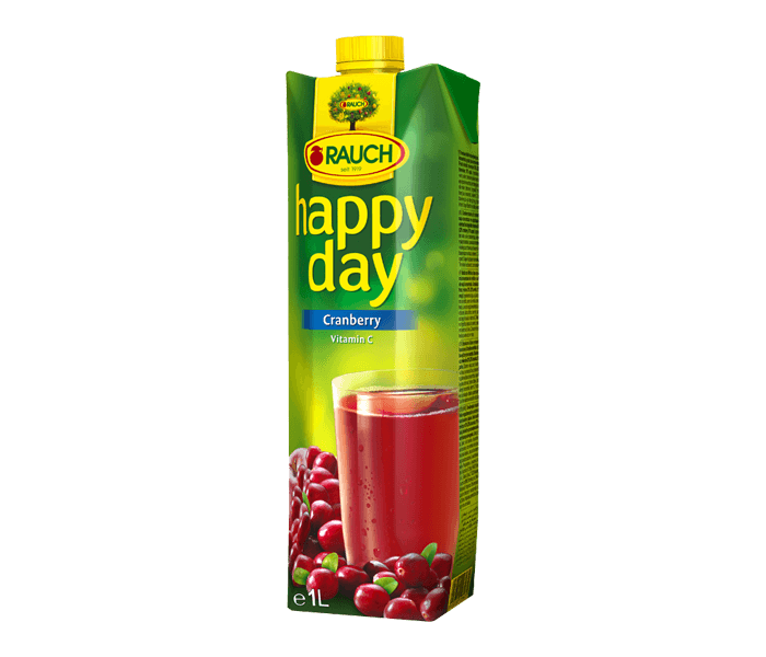 Rauch Happy Day Cranberry Fruit Juice 1 L