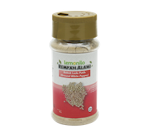 Rempah Bubuk Lada Putih (Ground White Pepper) 60 gr| Lemonilo