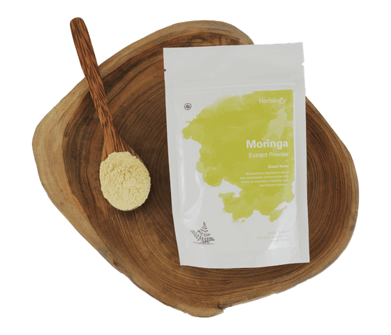Herbilogy Moringa (Daun Kelor) Extract Powder