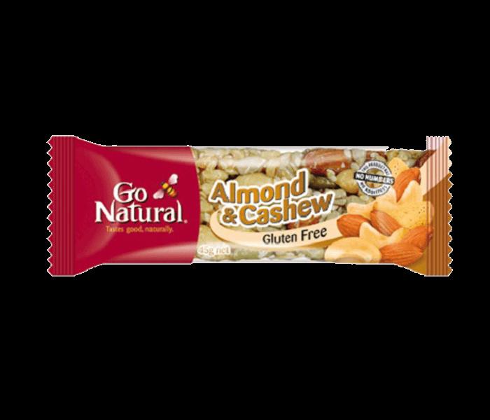 Jual Go Natural Bar Kacang Mede Almond Bebas Gluten hanya di Lemonilo.com