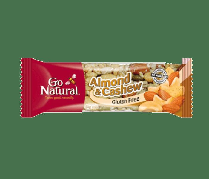 Go Natural Bar Kacang Mede Almond Bebas Gluten