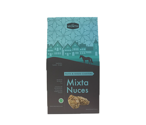 Montis Kue Kering Mixta Nuches Less Sugar