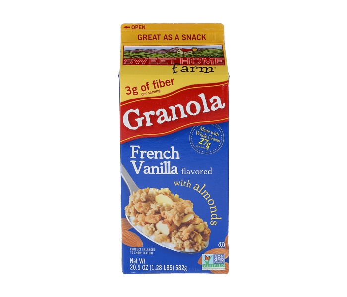 Sweet Home Farm Granola French Vanilla with Almonds