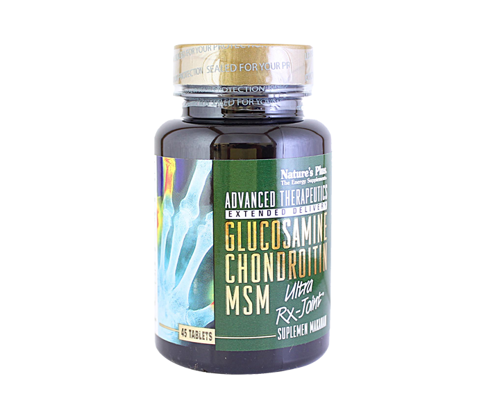 Nature's Plus Glucosamine Chondroitin MSM Ultra RX-Joint 45 Tablet