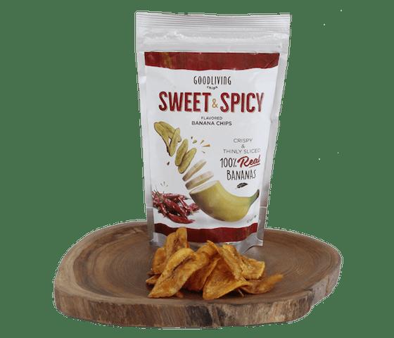 Good Living Chips Keripik Pisang Pedas Manis