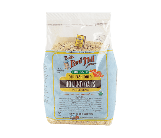 Bob's Red Mill Organic Old Fashioned Rolled Oats 907 gr