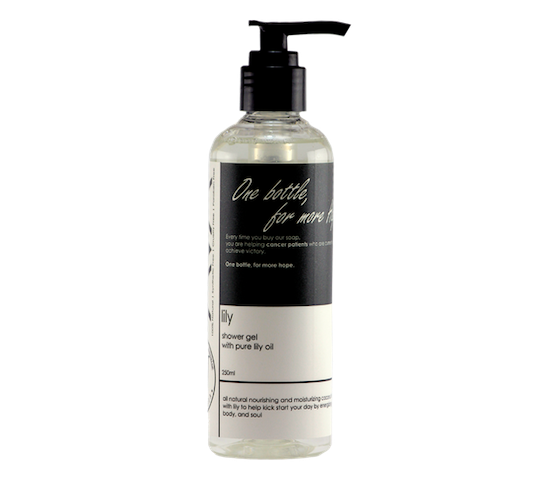 Ava Natural Lily Shower Gel 250 ml