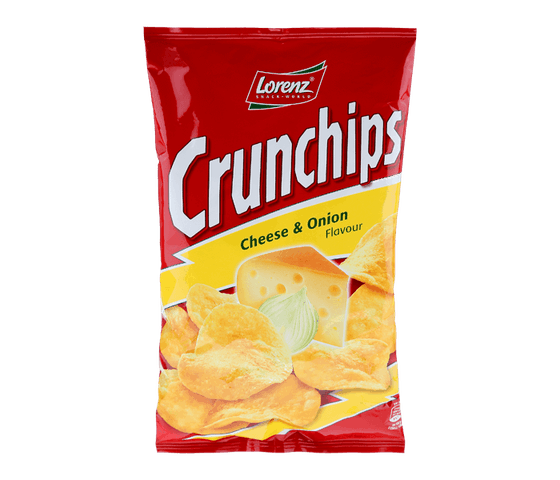 Lorenz Crunchips Cheese and Onion