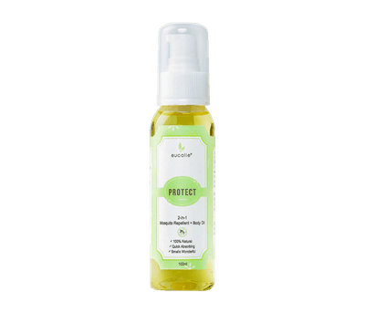 Eucalie Protect 2-in-1 Mosquito Repellent & Body Oil Serum 100 ml