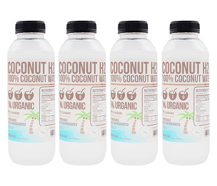 Yourganic Coconut H2O 250 ml Pack of 4