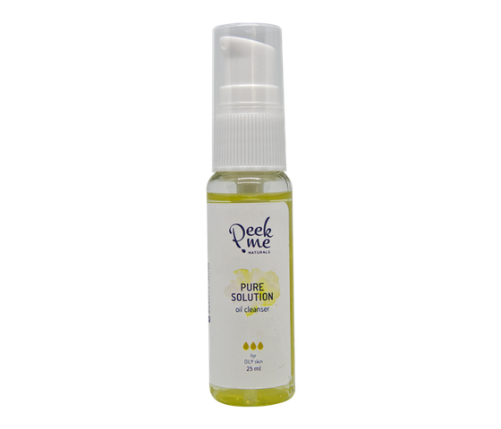 Peek.Me Naturals Pure Solution Oil Cleanser