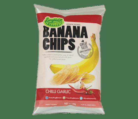 Everything Banana Keripik Pisang Cabai Bawang