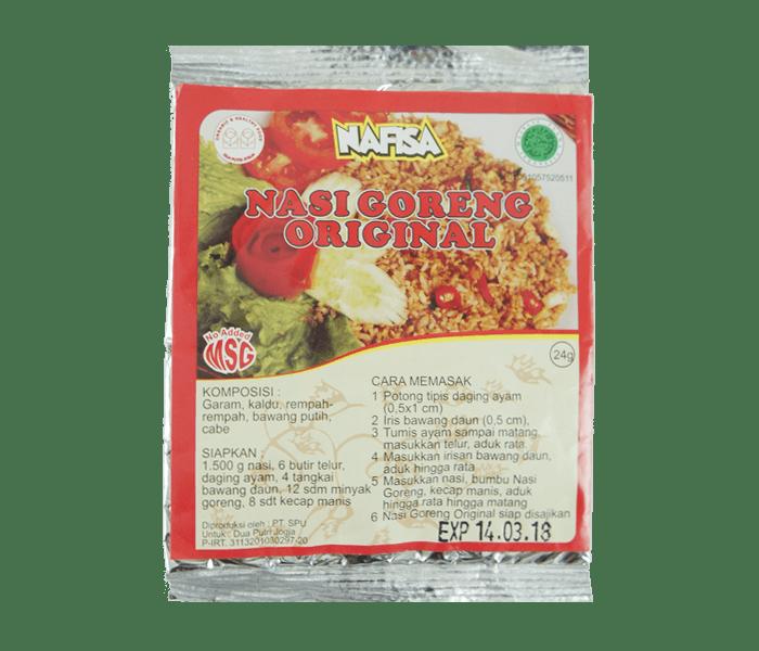 Nafisa Bumbu Nasi Goreng Original Alami