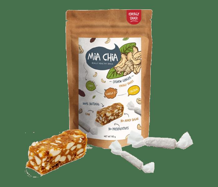 Mia Chia Permen Alami Kacang Mede & Jahe