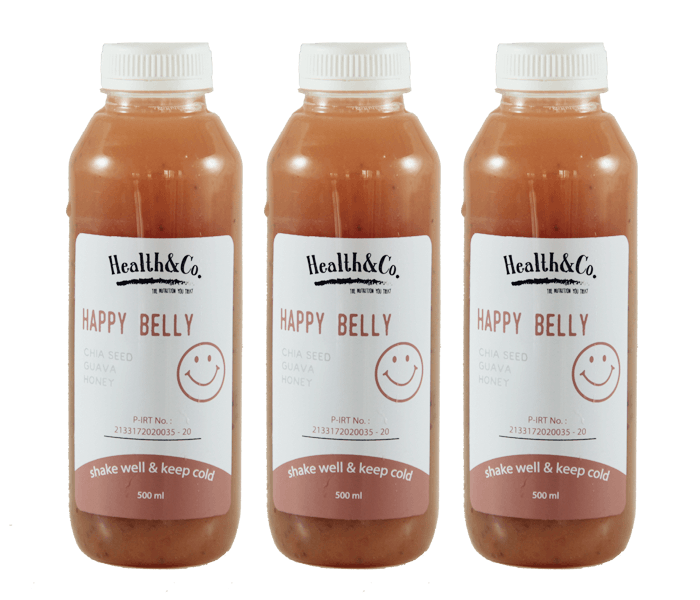 Health & Co. Paket 3 Botol Happy Belly