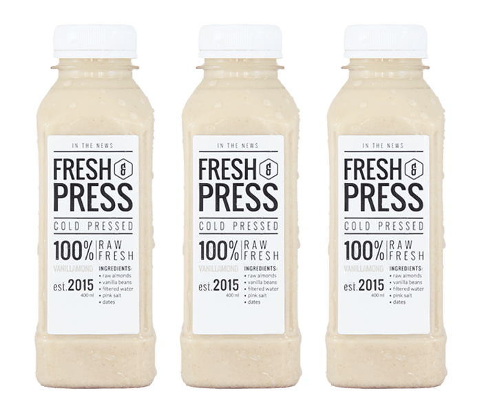 Fresh & Press Vanilamond Almond Milk (Susu Almond) Pack of 3