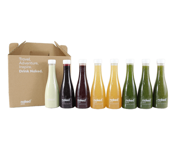 Naked Press 2 Days Detox Program (More Greens, Less Fruits)