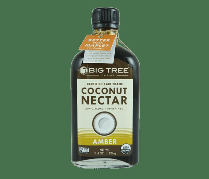 Big Tree Farms Sirup Nektar Kelapa Organik Amber