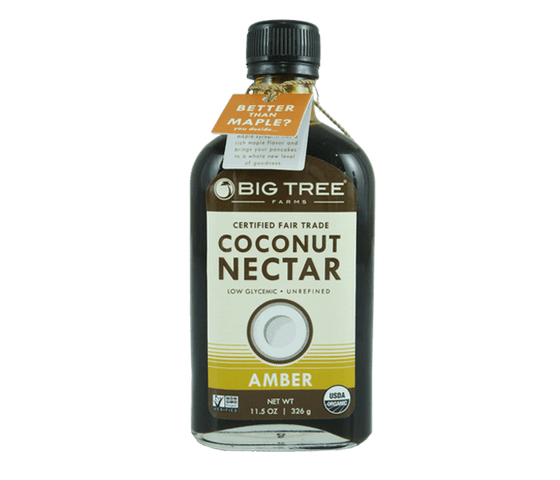 Big Tree Farms Sirup Nektar Kelapa Organik Amber