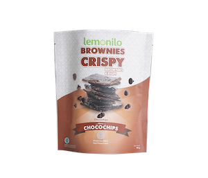 Lemonilo Brownies Crispy Rasa Chocochips 40 gr