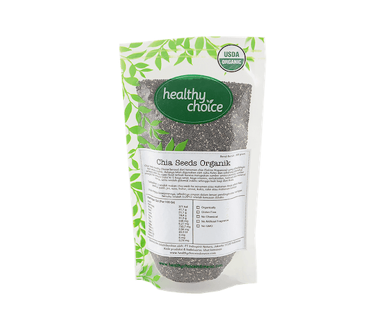 Healthy Choice Chia Seeds Organik 300 gr