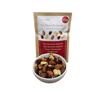 Nourish Bites The Three Musketeers Nut & Fruit Mix 35 gr