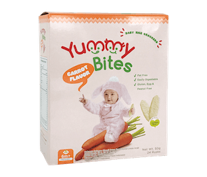 Yummy Bites Cracker Beras Wortel