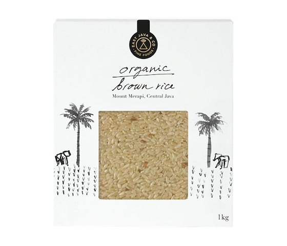 East Java Organic Brown Rice (Beras Cokelat Organik)