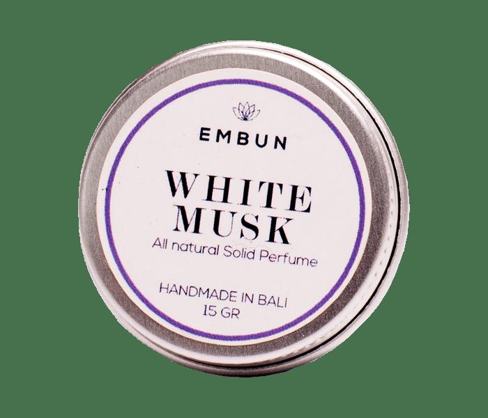Embun Solid Parfum White Musk 15 gr