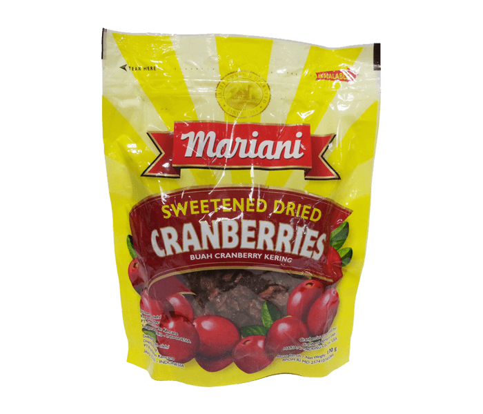 Mariani Sweetened Dried Cranberry 170 gr
