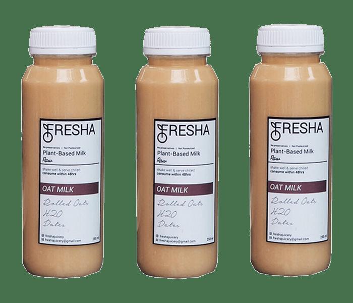 Fresha Original Oat Milk Pack of 3