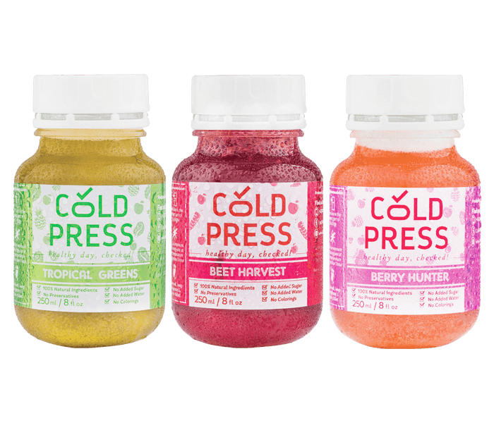Cold Press Daily Juice Signature Pack of 3