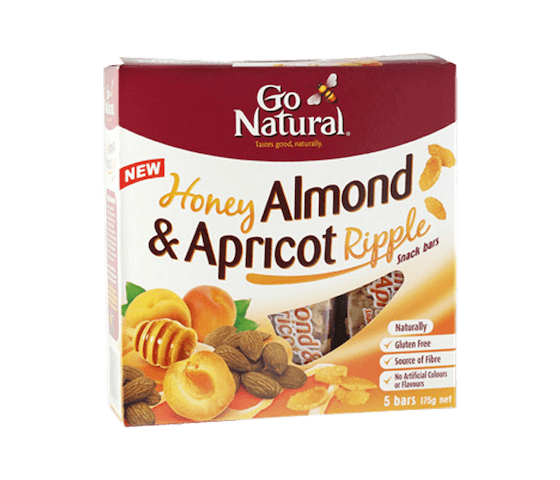 Go Natural Bar Almond Aprikot Madu (Box)