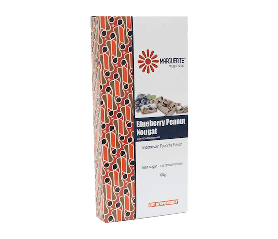 Marguerite Blueberry Nougat 125 gr