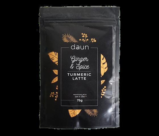 Daun Ginger & Spice Turmeric Latte 75 gr